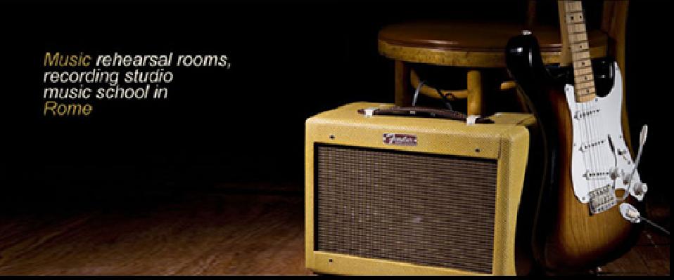 Sonora studio di registrazione scuola di musica sale prova roma - Studio di registrazione casalingo ...